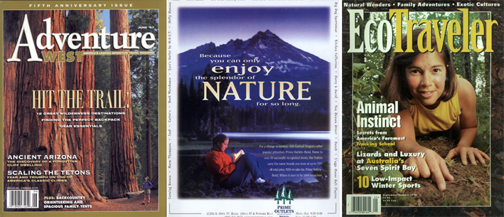 Photo of Magazine Covers